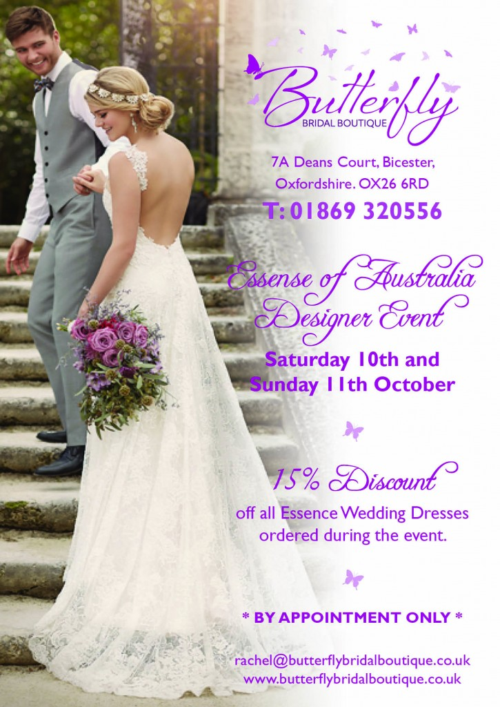Essence of Australia wedding dresses Oxfordshire