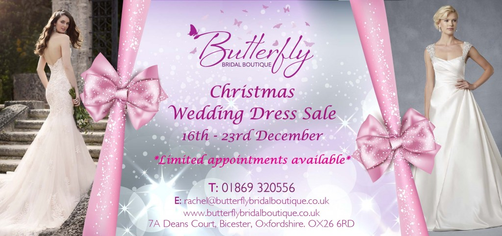 Christmas Wedding Dress Sale
