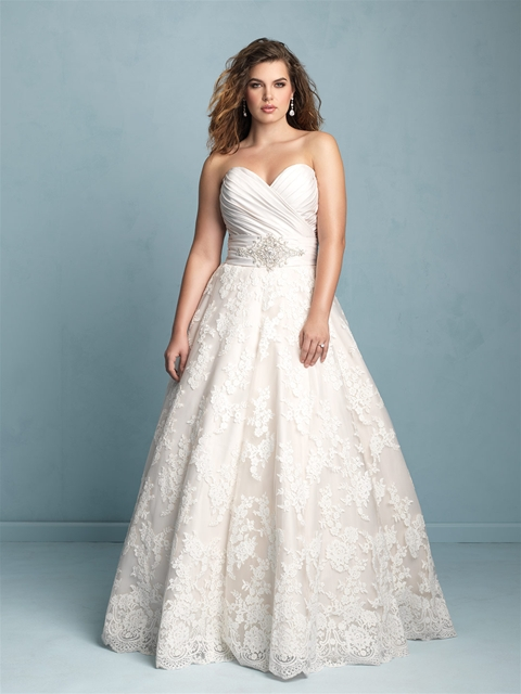 Allure Women\'s Collection for the curvy bride - Butterfly Bridal ...