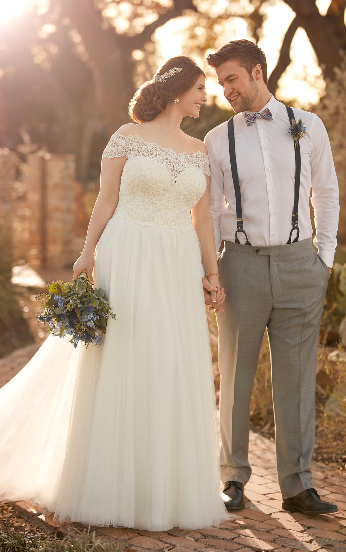 51dd333c48f6 D2446 by Essense of Australia. A pretty boho wedding dress ...